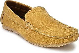 Andrew Scott Men's Canvas Loafers