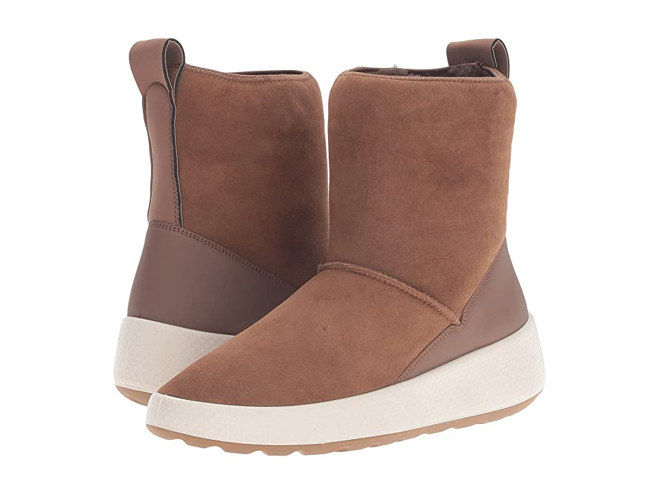 ECCO Ukiuk Short Boot (Cocoa Brown/Cocoa Brown) Women