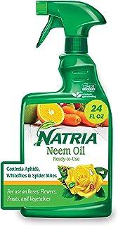 Natria 706250A Neem Oil Spray for Plants Pest Organic...