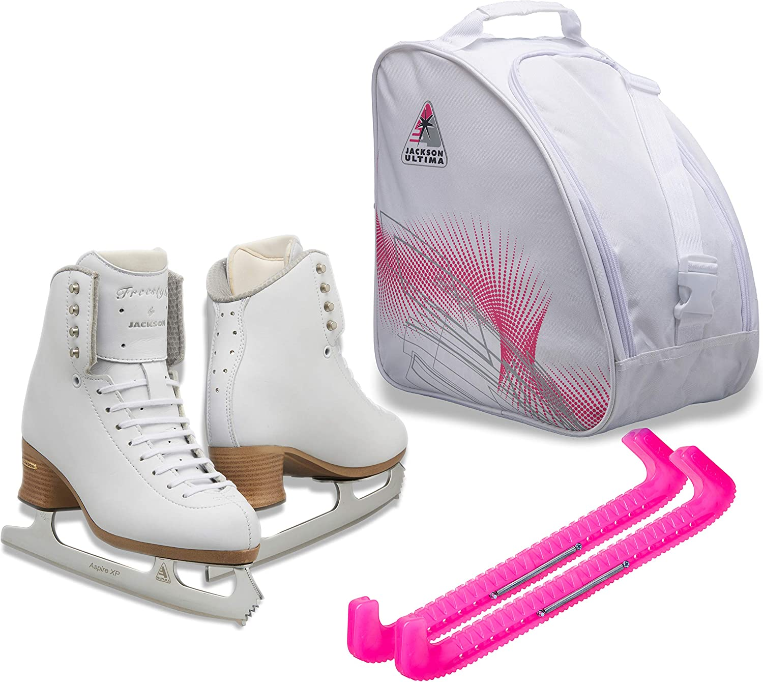 Jackson Ultima Figure Ice Skates for and Bundle Max 80% OFF Fort Worth Mall with Girls Women
