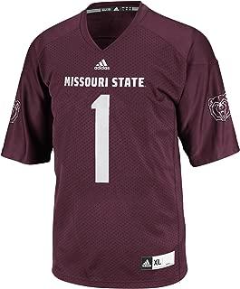 adidas NCAA Men's 3-Stripe Football Jersey