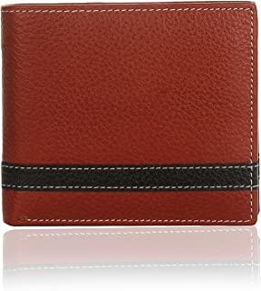 K London Strikethrough Contrast Stitch Wallet-2010_brn