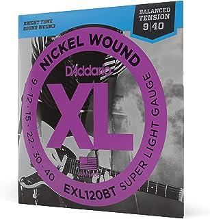 Daddario Exl120Bt Elektro Gitar Tel Seti, Xl, 9-40, Nickel Wound, Ba