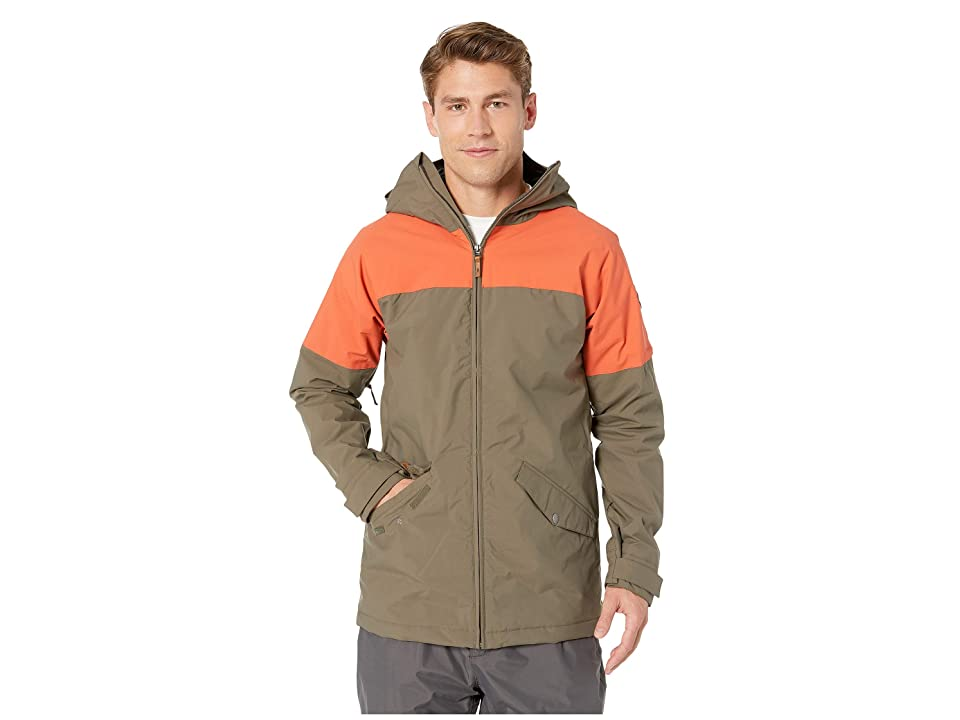Dakine Denison Jacket (Tarmac/Burnt Ochre) Men
