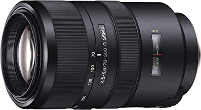 Sony DSLR Lens 70-300mm F4.5-5.6 G SSM II Zoom Lens for Sony Alpha Cameras