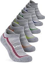TSLA Men & Women 4-Pairs / 6-Pairs Athletic Performance Running No Show Active Socks