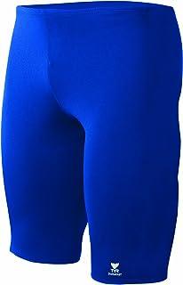 TYR Boy 's Durafast Elite Solid Jammer Swim Suit