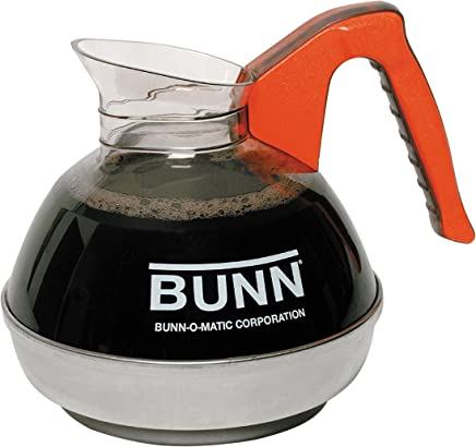 3 Pack BUNN 6103.0002 Easy Pour Commercial Decanter 12 Cup Red