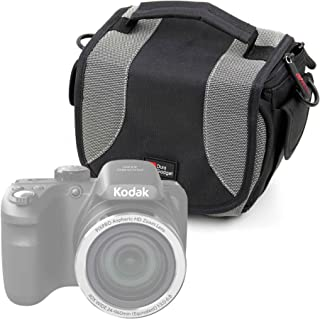 Compatible with Your Accessories DURAGADGET Water-Resistant Black /& Grey Cross-Body Carry Bag Compatible with JVC GC-XA1 /& GC-XA2 ADIXXION