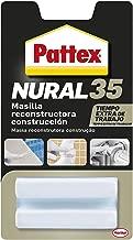Pattex Nural 35, masilla reconstructora de metales, color blanco, 50gr