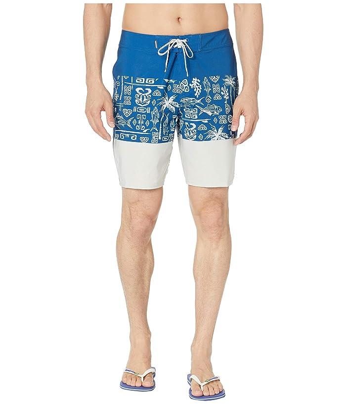 Quiksilver Waterman Liberty Triblock 19 Boardshorts (Monaco Blue) Men