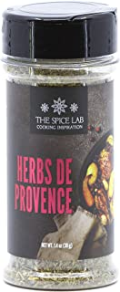 The Spice Lab Herbes De Provence Spice - Holiday Spice Seasoning - 1.4 oz Shaker Jar - Kosher Gluten-Free Non-GMO All Natu...