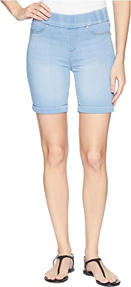Roxie Pull-On Walking Shorts in Silky Soft Denim in Delton Light
