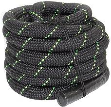 POWRX Battle Rope Premium kwaliteit Swing Rope incl. Workout I Ø 38 mm I Training Rope Sport Rope Werptouw voor Fitness Kr...