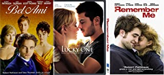 Triple Romance Movies with Robert Pattinson Zac Efron Remember Me / Bel Ami / The Lucky One 3-DVD Bundle