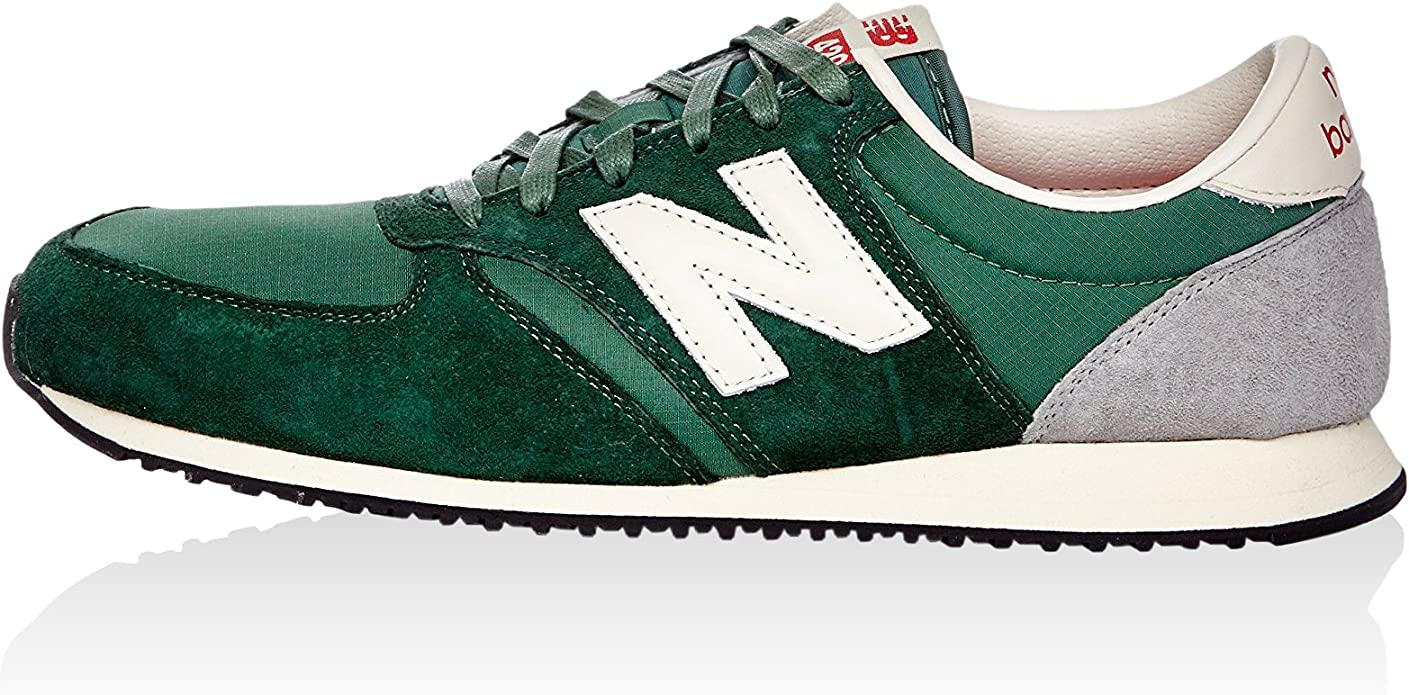 NEW BALANCE - Baskets - Homme - Sneakers U420 suede vert ...