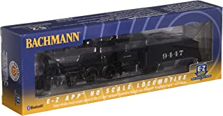 Bachmann Industries Smart Phone Controlled Train Locomotive with ATSF #9447 HO Scale