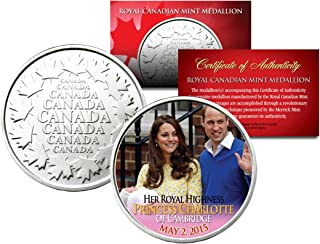 PRINCESS CHARLOTTE of Cambridge Royal Canadian Mint Medallion Coin William Kate