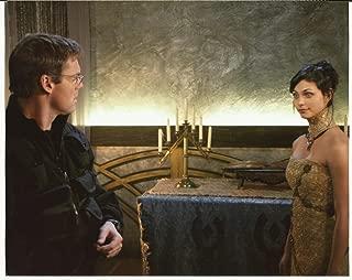 Stargate SG-1 Michael Shanks with Morena Baccarin on Ori Ship 8 x 10 Photo
