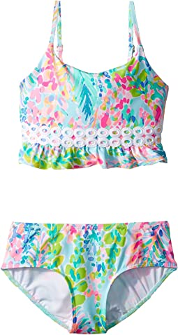 Lilly Pulitzer Kids UPF 50+ Katrina Bikini (Toddler/Little Kids/Big Kids)