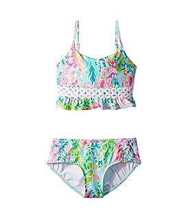 UPF 50+ Katrina Bikini (Toddler/Little Kids/Big Kids)