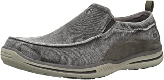Skechers Men's Relaxed Fit Elected-Drigo Loafer
