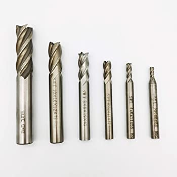 1MM METRIC CARBIDE END MILL 3 FLUTE SINGLE SQUARE END TIN COATED NEW USA
