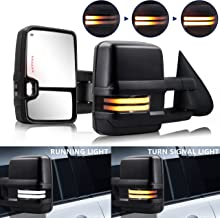 HF Autoparts Swichback Towing-Mirrors Compatible with...