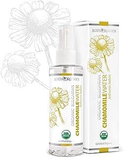 Alteya Organic Agua Floral de Manzanilla 100 ml Spray – Con Certificado USDA de Producto Puro Orgánico Destilado al Vapor...