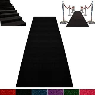 Best black event carpet Reviews