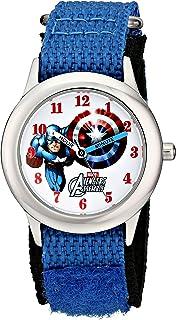 Marvel Kids' W001547The Avengers Captain America Analog...