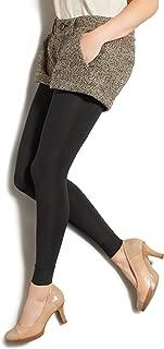 TherafirmLIGHT Women's Footless Support Tights - 10-15mmHg Compression Stockings (Black, Medium)