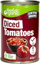 Absolute Organic Diced Tomatoes , 400g