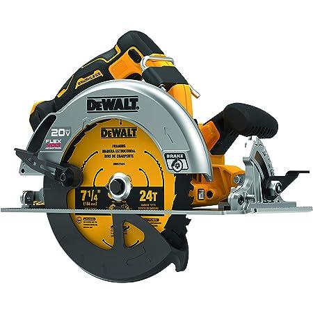Dewalt Flexvolt Advantage 20v Max Circular Saw 7 1 4 Inch Cordless Tool Only Dcs573b Amazon Com