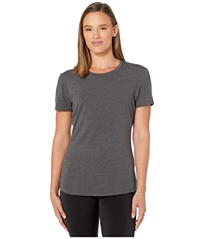 2XU Heat Short Sleeve Tee (Charcoal Marle/Charcoal Marle) Women