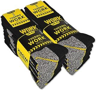 10 pares de calcetines de trabajo térmicos de rizo interior Work para hombre