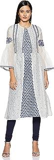 W for Woman Women's Cotton anarkali Salwar Suit Set