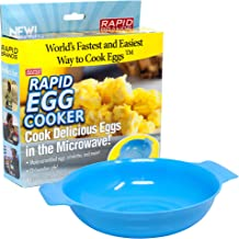 Rapid Egg Cooker   Microwave Scrambled Eggs & Omelettes in 2 Minutes   Perfect for Dorm, Small Kitchen, or Office   Dishwasher-Safe, Microwaveable, BPA-Free