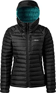 RAB Microlight Alpine Jacket - Women's Black/Seaglass 14