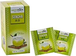 Thaitee Japanese Sencha Green Tea Bag; High Natural Antioxidants, Robust, Lasting and Refreshing, Healthy Grassy Flavor Ho...