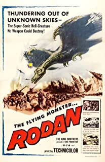 73683 Rodan Movie 1956 Adventure Monster Decor Wall 32x24 Poster Print