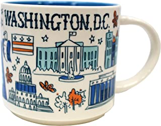 Starbucks Coffee 2018, Been There Series, Washington DC Mug, 14-Ounce with Gift Box