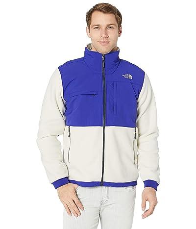 The North Face Denali 2 Jacket (Vintage White/Aztec Blue) Men
