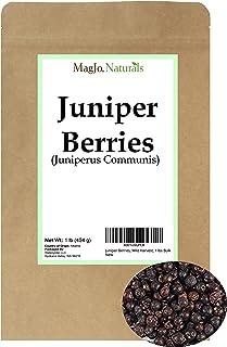 Juniper Berries, Wild-Crafted, 1 lbs Bulk