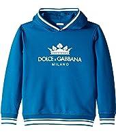 Dolce & Gabbana Kids - D&G Logo Hoodie (Big Kids)