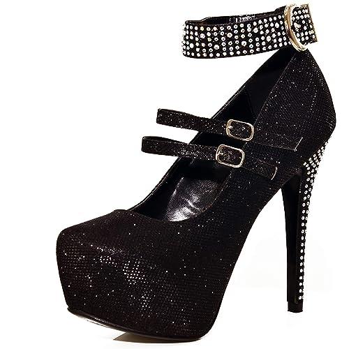 3bdf9e0b383 Heels Size 9: Amazon.co.uk