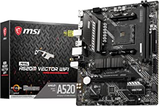 MSI MAG A520M VECTOR WIFI マザーボード MicroATX [A520チップセット搭載] MB5134