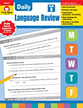Evan-Moor Daily Language Review Grade 8 Teacher s Edition Supplemental Teaching Resource Book, 36 Weeks of Lessons