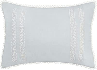 Amazon Com La Rochelle Sophia 4 Piece Decorative Pillow Set Champagne Home Kitchen
