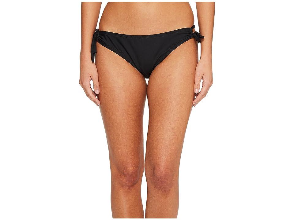 Next by Athena Good Karma Tubular Tunnel Bikini Bottom (Black) Women